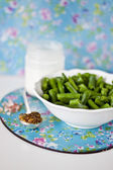 Зеленая фасоль — Stock Photo