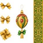 Christmas festive ornaments — Stock Photo #53111765