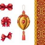 Christmas festive ornaments — Stock Photo #53111771