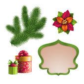Éléments de décoration de Noël — Photo