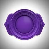 Indigo Ajna třetí oko chakra základna, 3d abstraktní symbol, izolované barevný grafický prvek — Stock fotografie