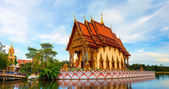 Wat Plai Laem. Buddhistic temple on Koh Samui, Thailand — Foto Stock