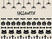 Confine di halloween — Vettoriale Stock