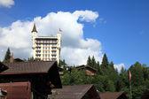 Village of Gstaad — Stock Photo