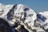 Liskamm, the dangerous high mountain — Stock Photo