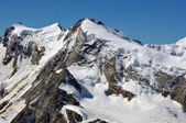 Monte Rosa mountain view — Stock Photo