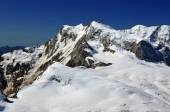 Monte Rosa and Liskamm — Stock Photo