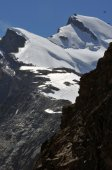 The north eastern ridge of the Allalinhorn — Stock Photo