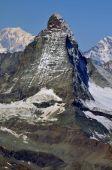 The Matterhorn in the summer — Stock Photo