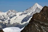 The Weisshorn, southern swiss alps — Stock Photo