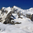 Monte Rosa and Liskamm — Stock Photo #59849055