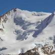 Monte Rosa in the swiss alps — Stock Photo #69528895