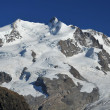 Monte Rosa in the swiss alps — Stock Photo #69529009