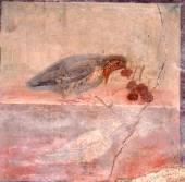 Ancient roman fresco — Stock Photo