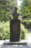 Busto del poeta - decembrista ai odoyevskiy en lazarevsky, región de krasnodar, Rusia — Foto de Stock