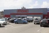 """Rodinné hypermarketu """"magnet"""" v urovnání lazarevskoye, soči, rusko — Stock fotografie"""