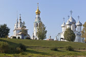 Vologodskie temples on Cathedral Hill, Russia — Stock Photo