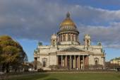 St. Petersburg, Russia. St. Isaac Cathedral in autumn — Stock Photo