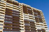 Modern Multi-Apartment house — Stock Photo