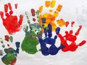 Abstract Child Art — Stock Vector