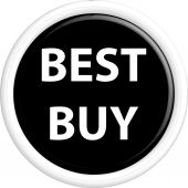 Button best buy — Stock Vector