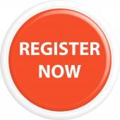 Button register now — Stock Vector
