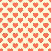 A pattern of hearts — Stockvektor
