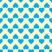 A pattern of hearts — Stock Vector