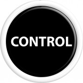 Button control — Stock Vector