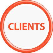 Button clients — Stock Vector