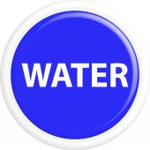 Button water — Stock Vector