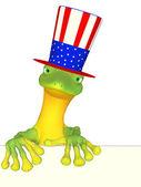 Gecko an American — Stock Photo