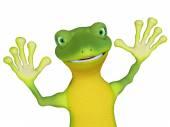 Gecko — ストック写真