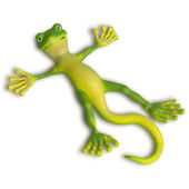Gecko enjoing the sun — Foto Stock