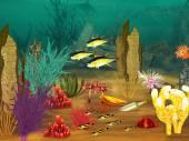 Undervattens liv — Stockfoto