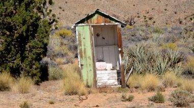 Abandon Mining Ghost Town — Wideo stockowe