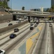 Overhead  in Downtown Los Angeles California — Stock Video #71523705