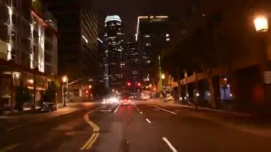 Streets of  Los Angeles — Stock Video