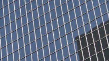Office Buildings Skyscraper in Los Angeles — Stock Video