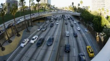 Ruch w los angeles — Wideo stockowe