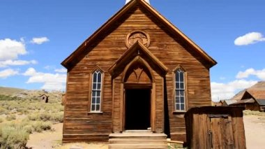 Bodie California - Abandon Mining Ghost Town — Stockvideo