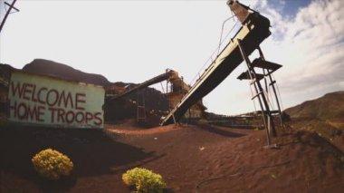 Abandon Mine Daytime — Vídeo de Stock