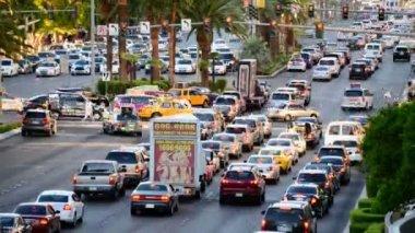 Las Vegas Strip Day — Stok video