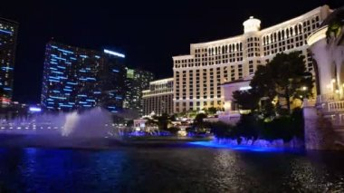 Bellagio Water Show - Las Vegas — Stock Video