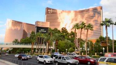 Time Lapse of the Wynn Casino Las Vegas — Stok video