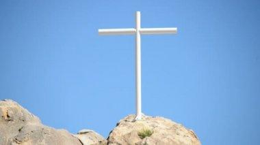 The Mojave Cross — Stock Video