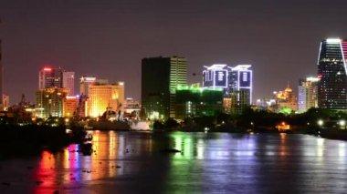 Scenic Ho Chi Minh City — Stock Video