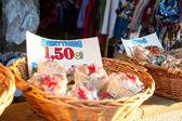 Sale in souvenir shop — Stock Photo