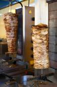Gyro meat — Stock Photo
