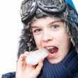 Boy in winter clothing — Stock Photo #66709259